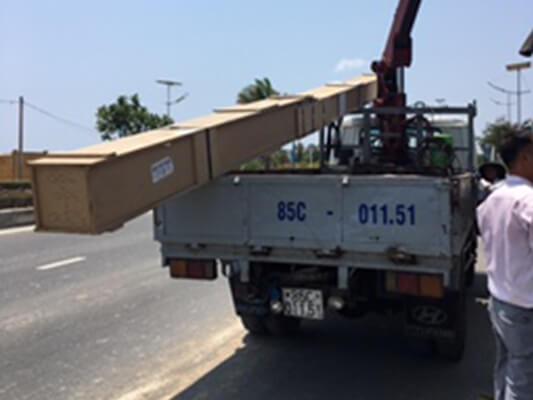 Vận chuyển hàng còng kềnh đi Nha Trang